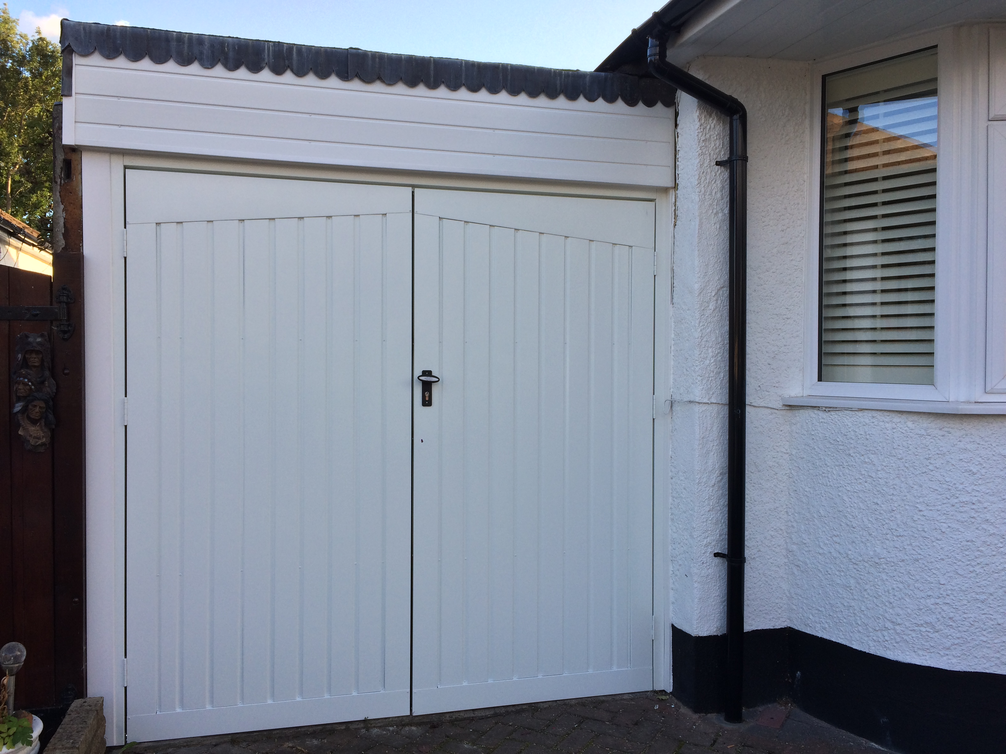 Gallery the garage door centre side hung doors rubansaba